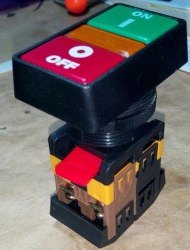 Pulsador Doble Mando Luminoso De 30mm