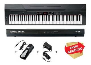 Piano Eléctrico Digital 88 Teclas Kurzweil Ka90 Sensitivo
