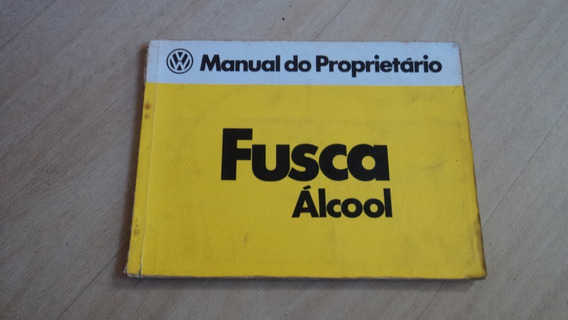 Fusca Álccol Manual Original 1980