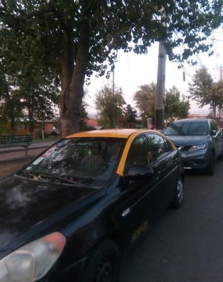 Taxi Hyundai Accent 2008 Diesel Con Derechos