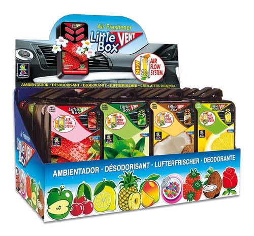 Perfumadores Little Box Vent 24 Unidades