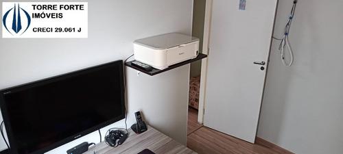 Imagem 1 de 15 de Apartamento Com 2 Dormitórios, 1 Suíte E 2 Vagas Em Santo André - 2836