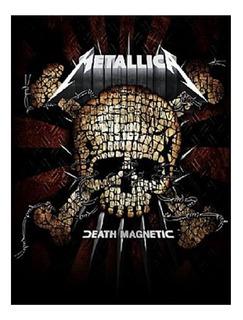 Bandeira 1,20cmx0,95cm Metallica Consulado Do Rock Bd010 Top