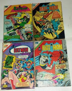 Revista, Comic, Historieta, Batman, Novaro Colombia Pqña