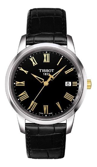 Relógio Tissot T-classic Dream Black - T033.410.26.053.01