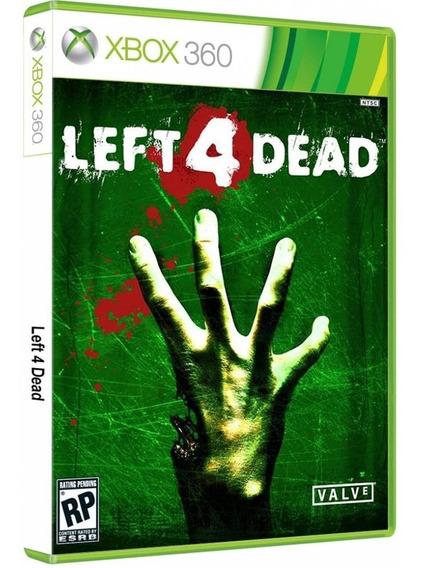 Left 4 Dead Mídia Fisica - Xbox 360 Ou Xbox One