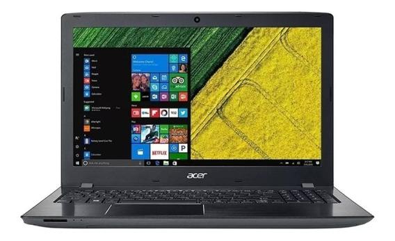Notebook Acer Aspire Intel Core I3-8130u Ram 6gb Hd 1tb Windows 10 Tela 15.6 E5-576-392h Preto