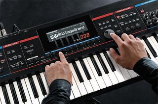 Programação Juno Stage Roland +100 Timbres Na Memória