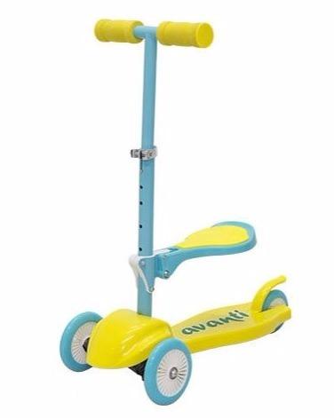 Monopatín Scooter Avanti Asiento Plegable Regulable Skate