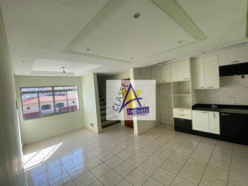 Imagem 1 de 18 de Cobertura Com 2 Dormitórios À Venda, 120 M² Por R$ 365.000,00 - Vila Camilópolis - Santo André/sp - Co0037