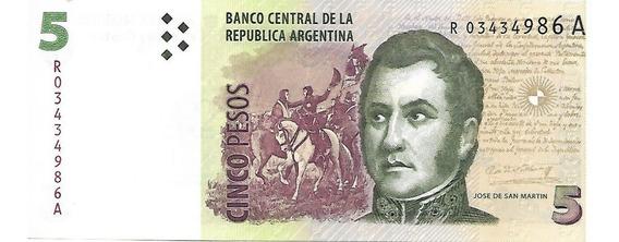 Bottero 3338 $ 5 Reposicion Fabrega - Boudou Unc Palermo