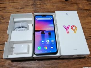 Celular Huawei Y9 2019 Con Android 9 Liberado De Fabrica.