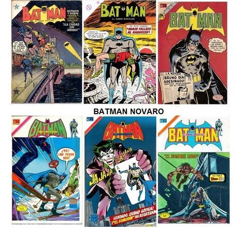 Imagen 1 de 10 de Colecciones Digitales Comics Batman Novaro Años 50/60/70/80