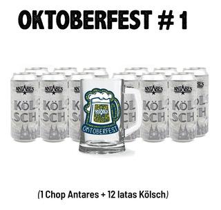 12 Latas 473 Ml Kölsch Antares Cerveza Artesanal + 1 Chop