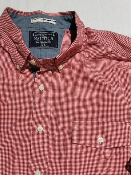 Camisa Nautica Xl Hombre Original (no Polo, No Lacoste)