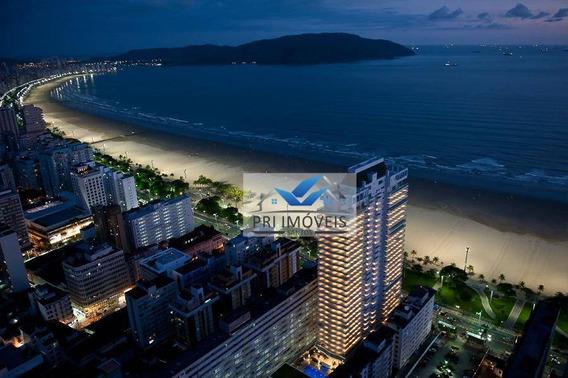 Apartamento À Venda, 360 M² Por R$ 3.114.000,00 - Gonzaga - Santos/sp - Ap0365