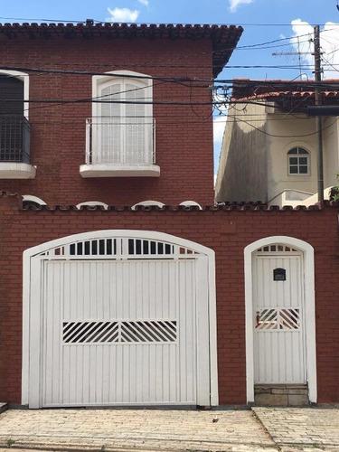 Sobrado  Residencial À Venda, Vila Zelina, São Paulo. - So0887