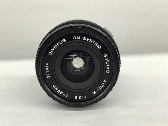 Lente Olympus Om System Zuiko Auto-w 28mm 1:3.5.(analógica)