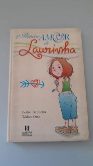 Livro O Primeiro Amor De Laurinha-top-usado-oferta-perfeito