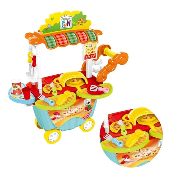 Creative Fun Food Truck Pizzaria Br1106 Multikids