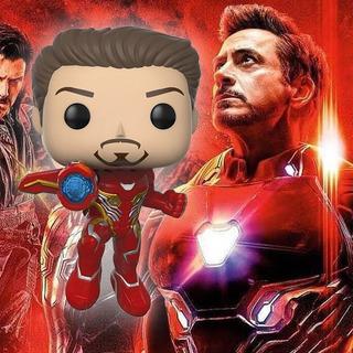 Muñeco Funko Pop, #304 Iron Man Exc, Infinity War Marvel