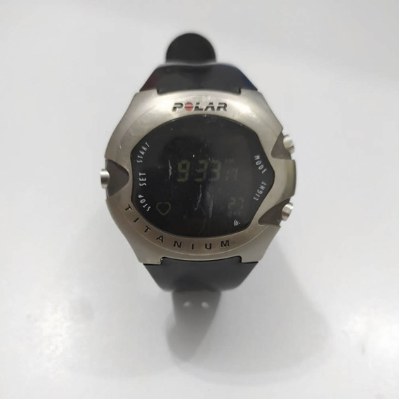 Relógio Polar Titaniumm71 Relíquia