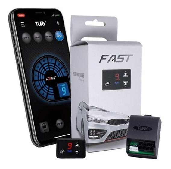 Gas Pedal Tury Fast 2.0 B Módulo Acelerador Speed Booster