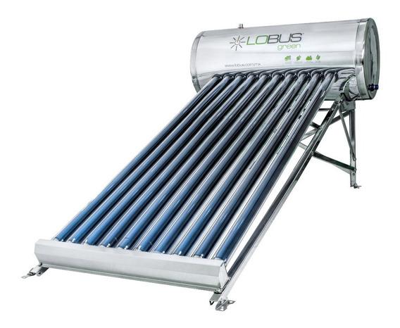 Calentador Solar Lobus 130 Lts 10 Tubos Gratis Barra Magnesi