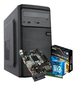 Computador Intel Core I3 7100 3.9ghz 4gb Ssd 120gb Nfe