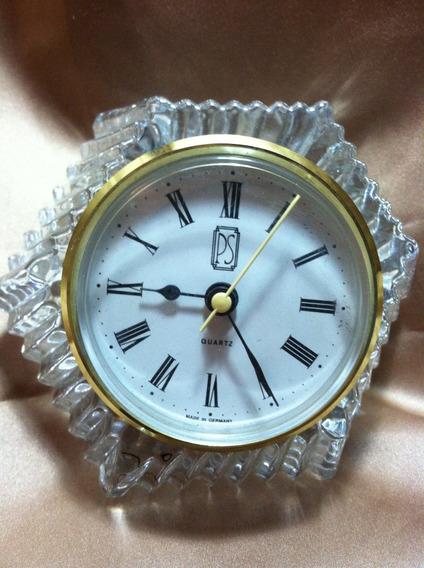 Reloj Aleman En Cristal De Plomo