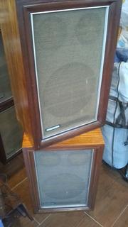 Bafles De Madera 3 Vías Vintage Marca Bgh Motorola