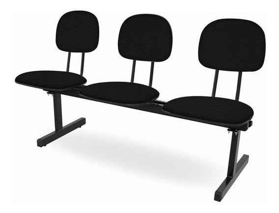 Longarinas E Cadeiras Para Igrejas - 3 Lugares - Fabricante