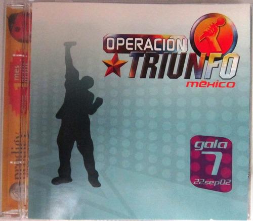 Varios Artistas - Operacion Triunfo Mexico Gala 7 Cd