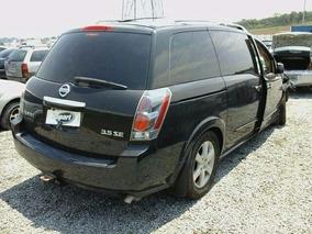 Sucata Nissan Quest 2008 3.5 V6 - Peças E Acessorios