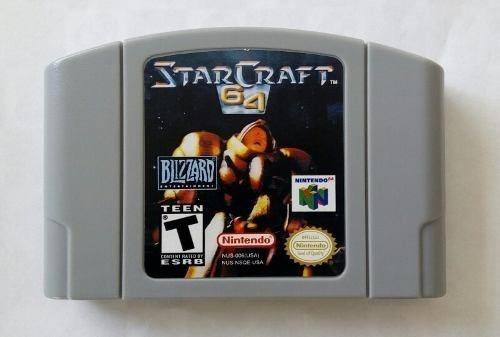 Starcraft 64 Star Craft Nintendo 64 N64 Novo + Garantia
