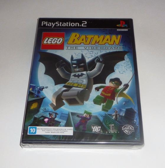 Lego Batman Original Ps2 Mídia Física Original Promoção!!!