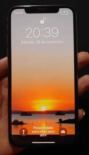 iPhone X 256 Gb (1 Ano De Uso - Em Ótimo Estado)