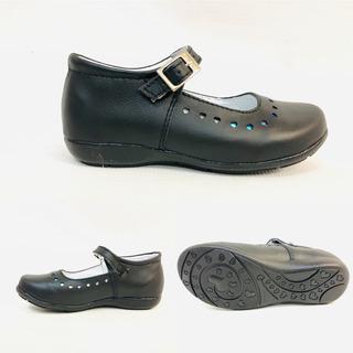Zapato Escolar De Piel Para Niñas