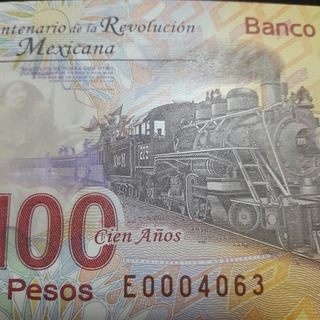 Billete Aniv. De 100 Pesos Sin Circular En Perfecto Estado