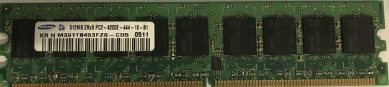Memoria Samsung 512mb 2r8 Pc2 4200e (usada)