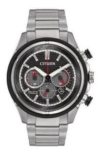 Reloj Citizen Ca424058a Super Titanium, Eco Drive,ultra Livi