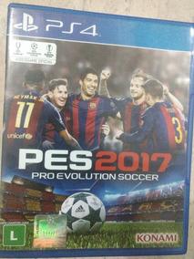 Pes 2017 Ps4 Pro Evolution Soccer Pes2017 (mídia Física)