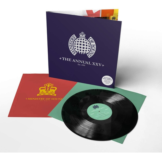 Ministry Of Sound Annual Xxv Vinilo Doble Nuevo Importado