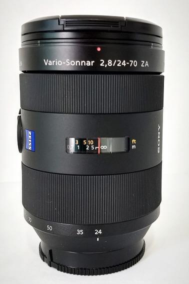 Lente Carl Zeiss - Sony Vario-sonar 2.8 / 24-70 Za T* Ssm.