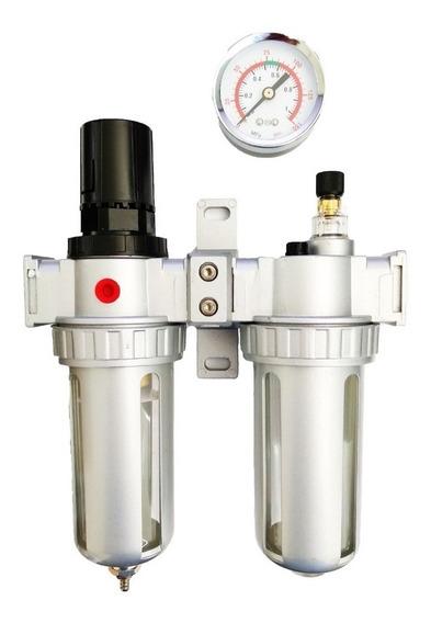 Filtro Regulador De Aire Y Unidad D Lubricación 1/2 Uso Rudo
