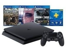 Consola Sony Playstation 4 1tb Hits Bundle 5 (3 Juegos)