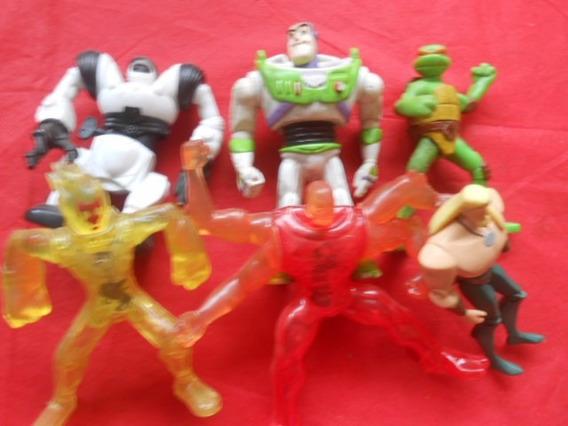 Bonecos Variados Tartaruga Ninja Toy Story Etc Lote Com 6