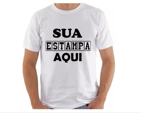 Camiseta Personalizada Com Sua Estampa Foto Imagem Festas