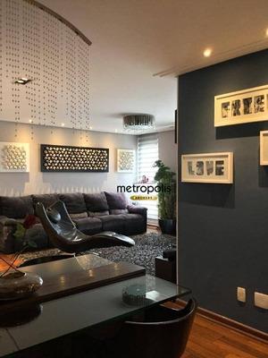 Apartamento Com 3 Dormitórios À Venda, 123 M² Por R$ 725.000 - Barcelona - São Caetano Do Sul/sp - Ap2034