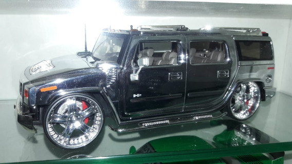 Jada Toys Hummer Cromo 1/24 Cromado